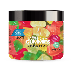 RA Royal CBD gummies for pain, stress, anxiety, insomnia - 300mg, 600mg, and 900mg