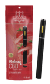 RA Royal Regall CBD Vape Pen - Strawberry