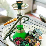 Samawi Shisha CBD Infused Shisha - Blueberry Mint, Mango, Mint, Apple, Pink Lemonade, Peach, Grape, Fizzy Bubble