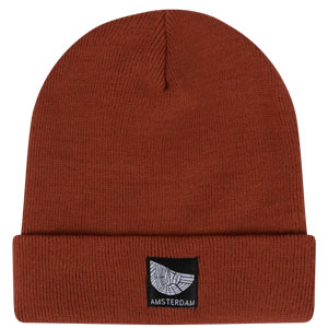 Orange Rust Beanie Amsterdam