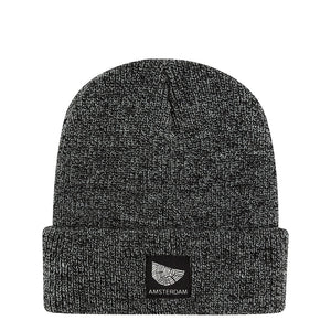 Dark Heather Grey Beanie Amsterdam