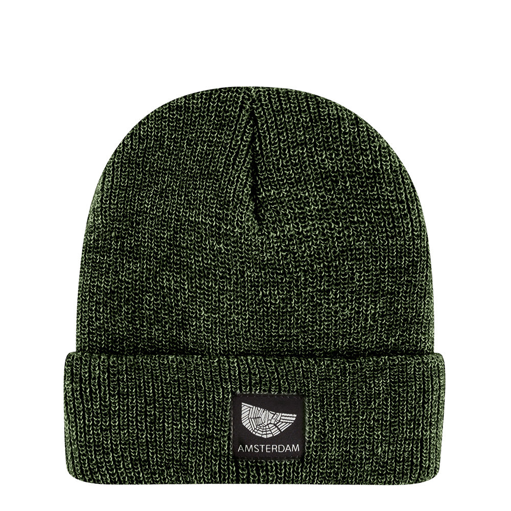 Heather Green Beanie Amsterdam