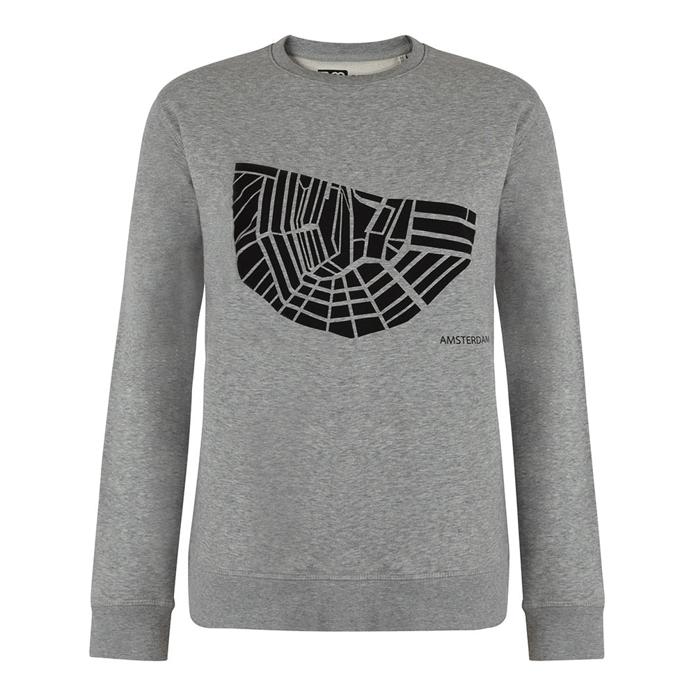 Sweater Amsterdam Grey