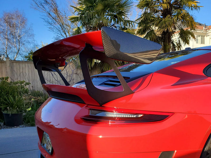 GT2 Style Wing End Plates for GT3 RS - 2016-2018 Porsche GT3 RS (991.1 & 991.2)