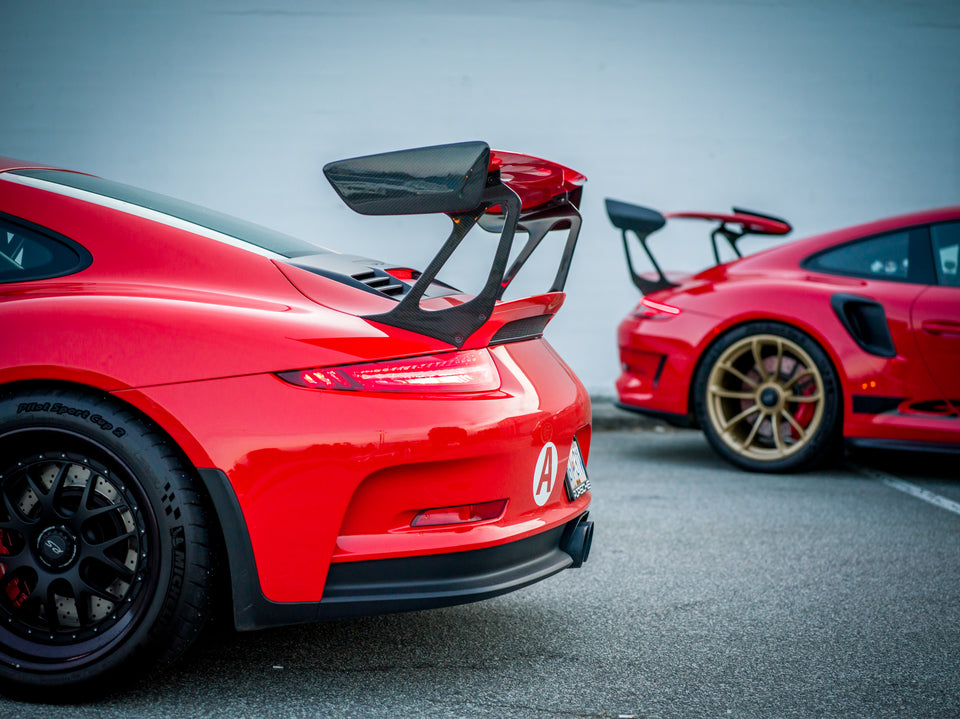 RS Wing Risers - 2016-2018 Porsche GT2 GT3 RS (991.1 & 991.2)