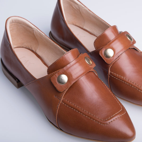 TEDDY'S LOAFERS BROWN - LAX
