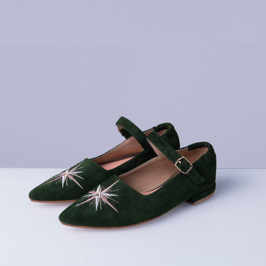 TINKER green suede - house-of-lax