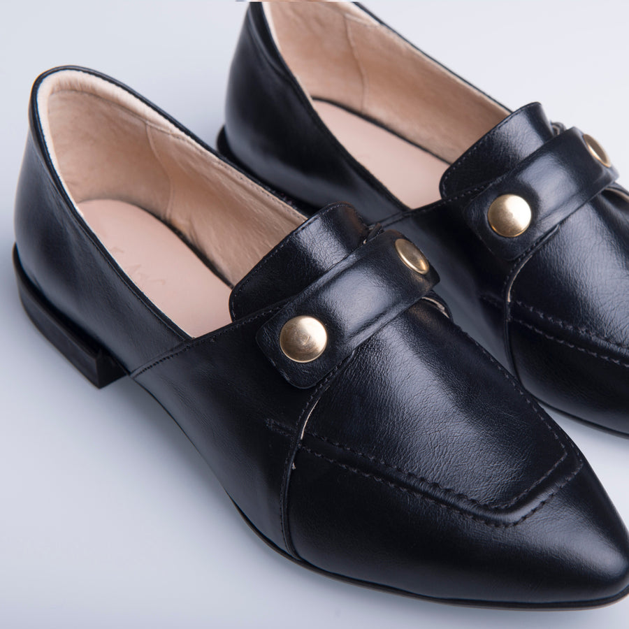 TEDDY'S  LOAFERS Black - house-of-lax