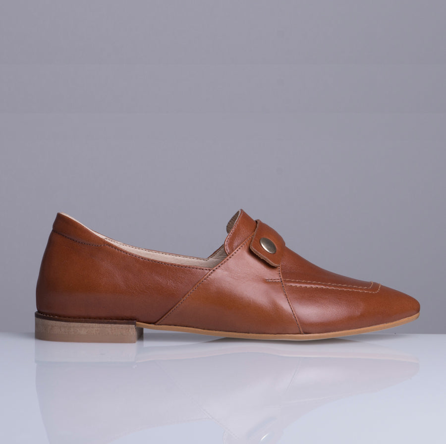 TEDDY'S LOAFERS BROWN - house-of-lax