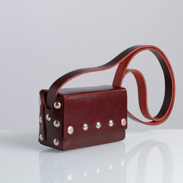 MINI BOX BAG Bordeaux