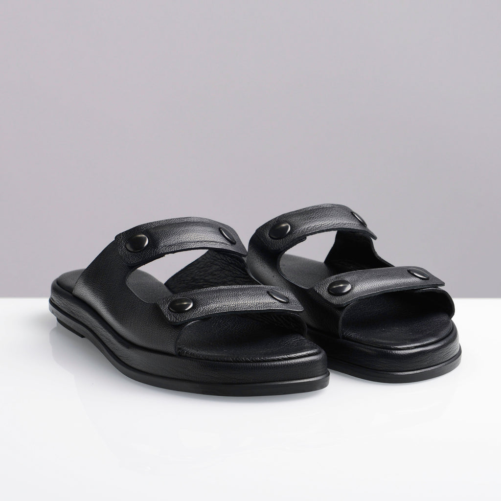 TEDDY'S SANDAL BLACK - house-of-lax