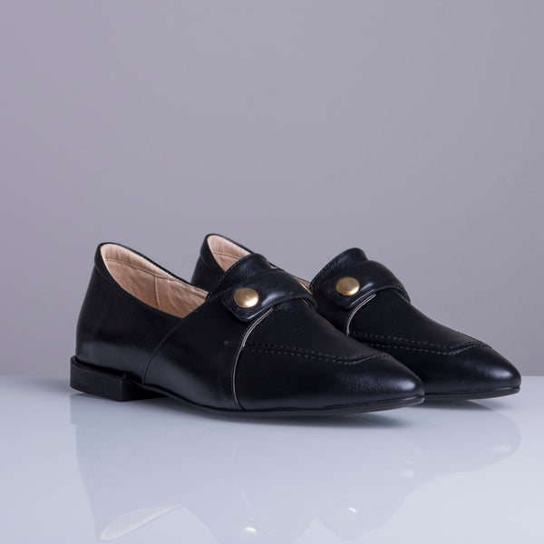 TEDDY'S  LOAFERS Black