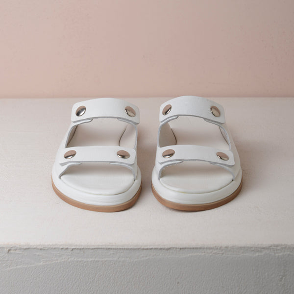 TEDDY'S SANDAL WHITE - house-of-lax