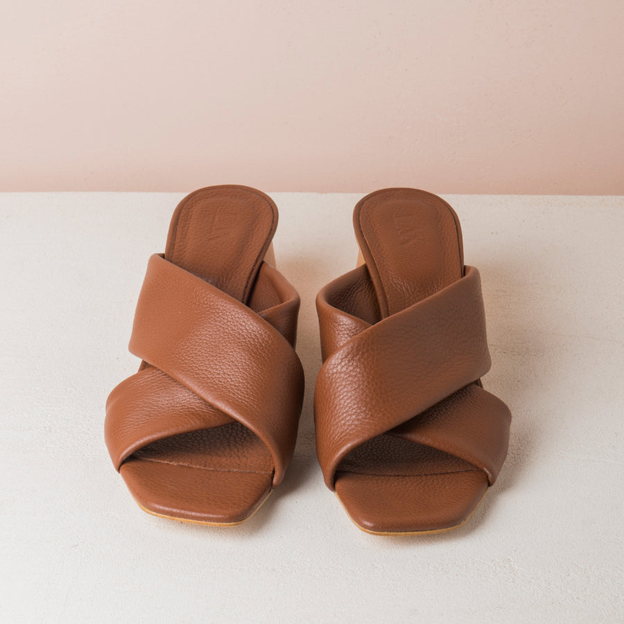 TERRY X  Brown mules - house-of-lax