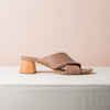 TERRY X  Pudra mules - house-of-lax