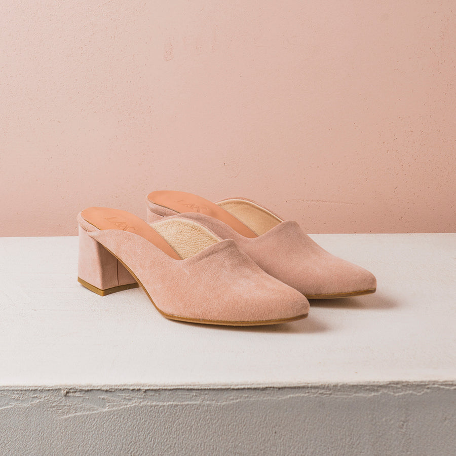PENNY LANE Pink Suede - house-of-lax