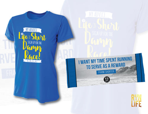 PROMOTION - Performance TEE (Royal Blue) + Cooling Towel
