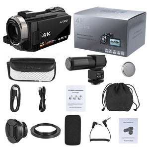 Luxury 4K 1080P 48MP WiFi digital video camera