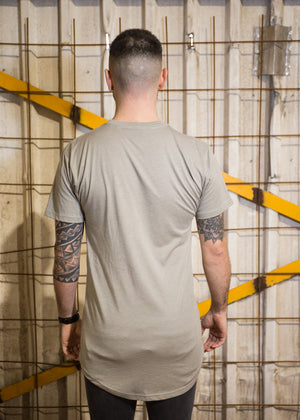 Urban T-shirt Grey -  Signature on front