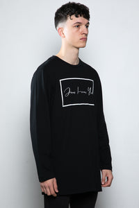 Jesus Loves You Oversized Long Sleeved