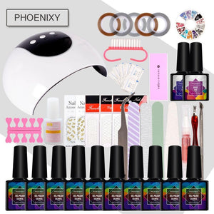 Kit Vernis Semi-Permanent Phoenixy