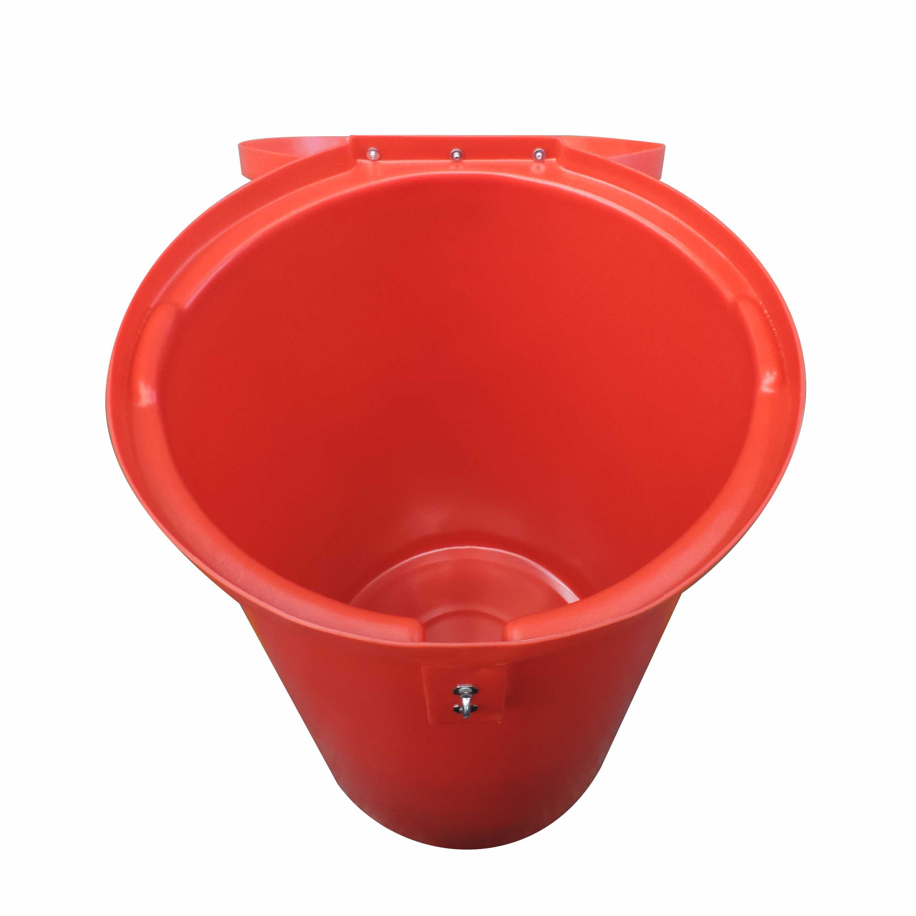 100L Round Medical/Hazardous Waste Bin