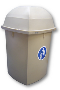 220L Pavement Litter Bin