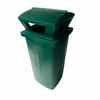 230L Litter Bin With Rain Top