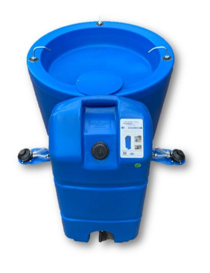 3 Station 300L Wash basin