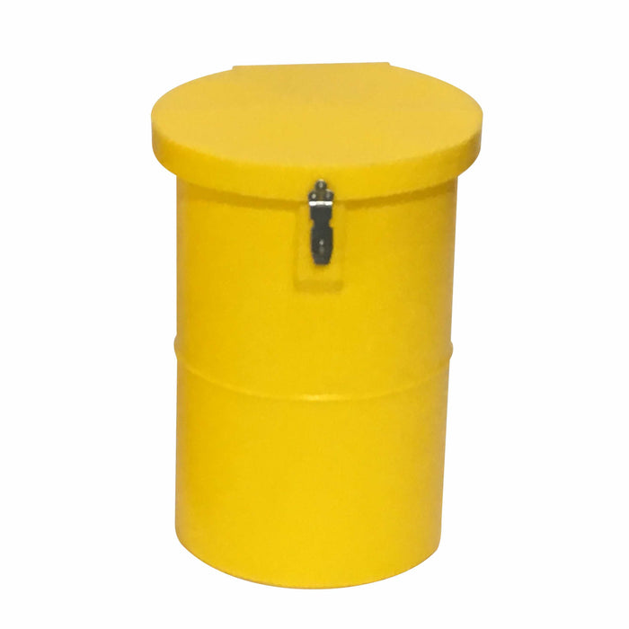 50L Round Medical/Hazardous Waste Bin