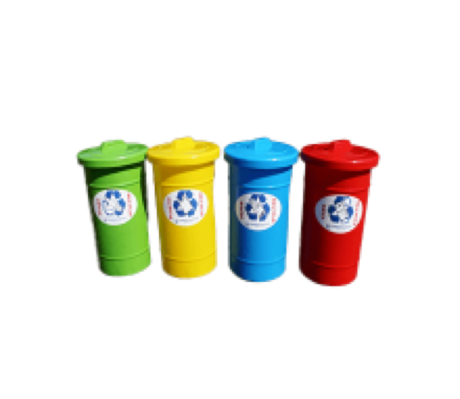 50L Round Recycle Bin