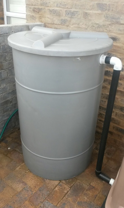Swimming Pool Backwash Tank