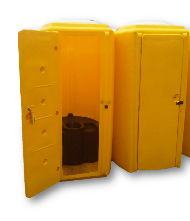 MKII Portable Toilet With Bench Tank