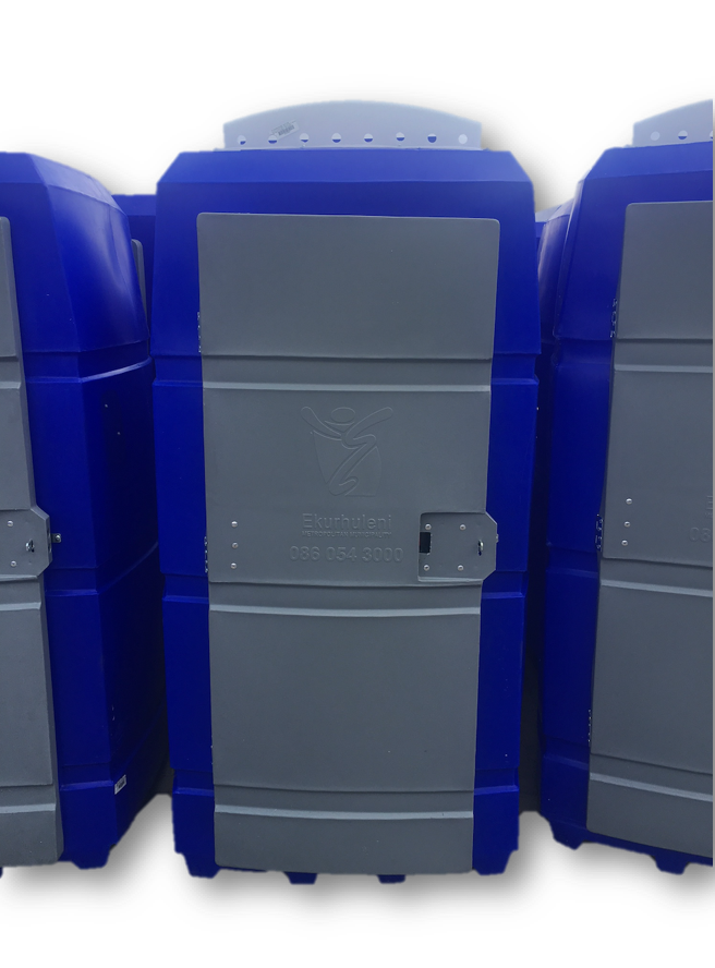 MKI Portable Toilet With Bench Tank