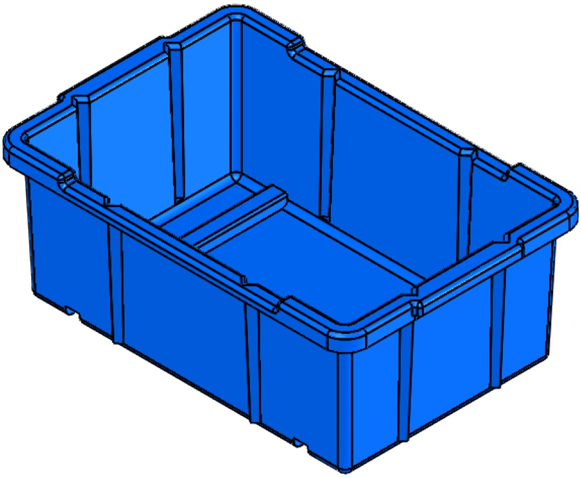 Nest / Stacking Bin (NS)