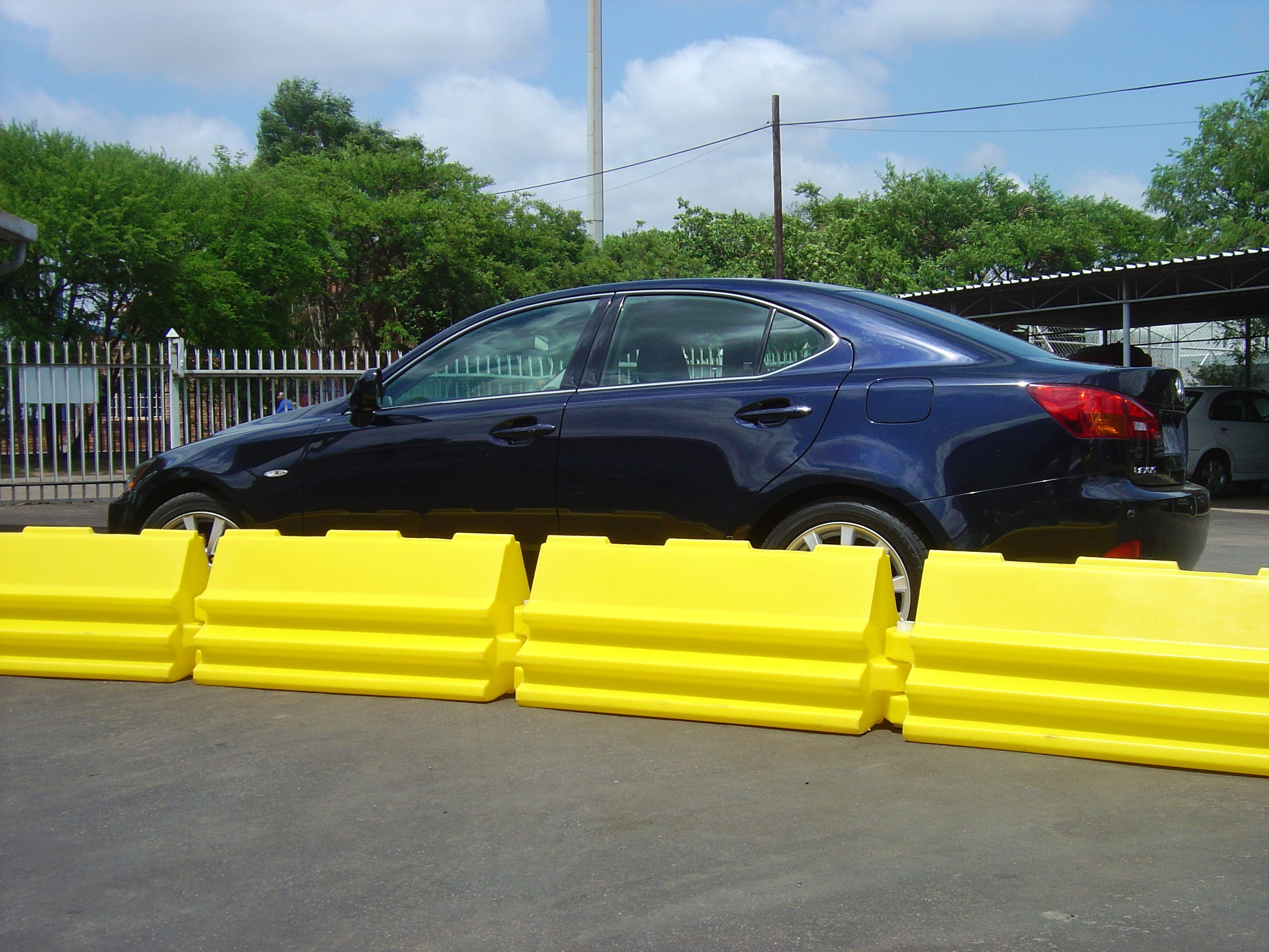 Pedestrian Road Barrier