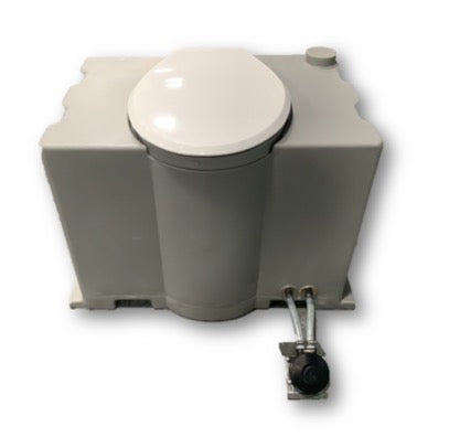 Toilet Pedestal Tank With Foot Flush