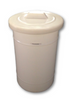 50L Round Drum With Loose Fitting Lid (RD0050)