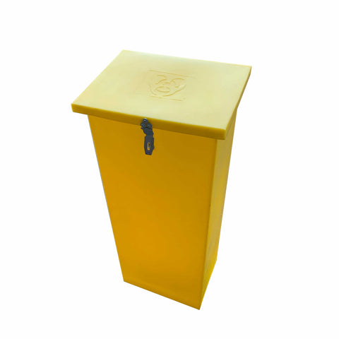 60L Medical/Hazardous Waste Bin
