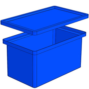Bin With Stacking Lid (SL)