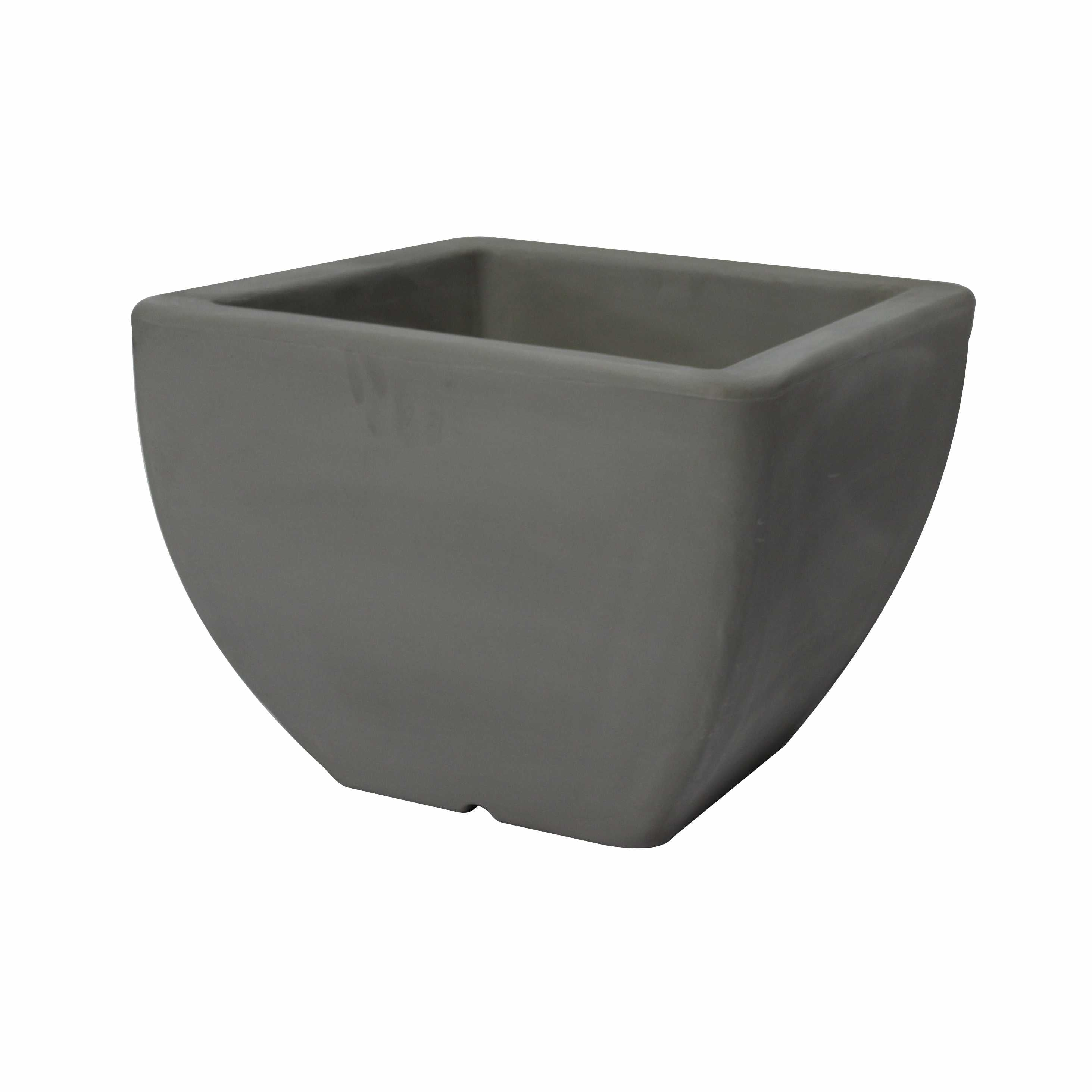 Large Square Flower Pot