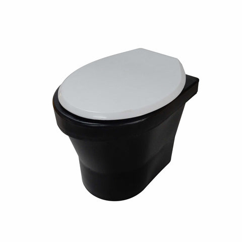 Black Toilet Pedestal