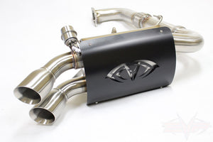 "Evolution Powersports Captains Choice Full 3"" Cutout Exhaust"