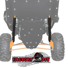 "Load image into Gallery viewer, FactoryUTV XP4 1000 Ultimate 3/8"" UHMW Skid Plate"