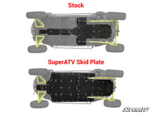 "Load image into Gallery viewer, SuperATV 1/2"" Skid Plate - RZR XP4 1000/Turbo"