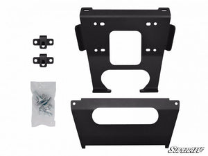 SuperATV Winch Mounting Plate - RZR Turbo