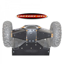 "Load image into Gallery viewer, FactoryUTV XP4 Turbo Ultimate 3/8"" UHMW Skid Plate"
