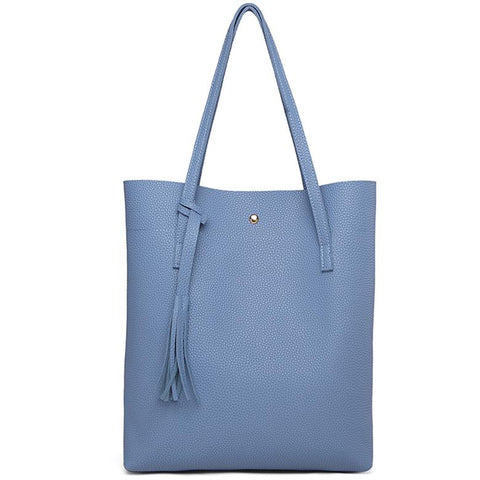 THALIA - Women's Soft Vegan Leather Mini Tote Bag
