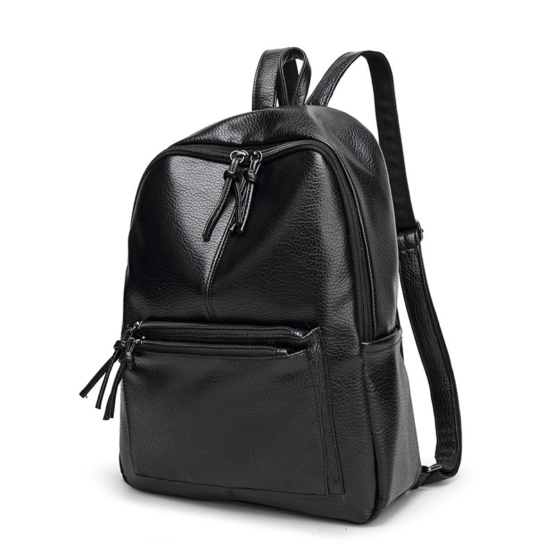 RIVERA - Faux Leather Women's Backpack