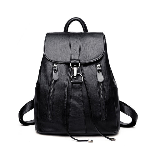 GISELLA - Soft Vegan Leather Backpack for Women